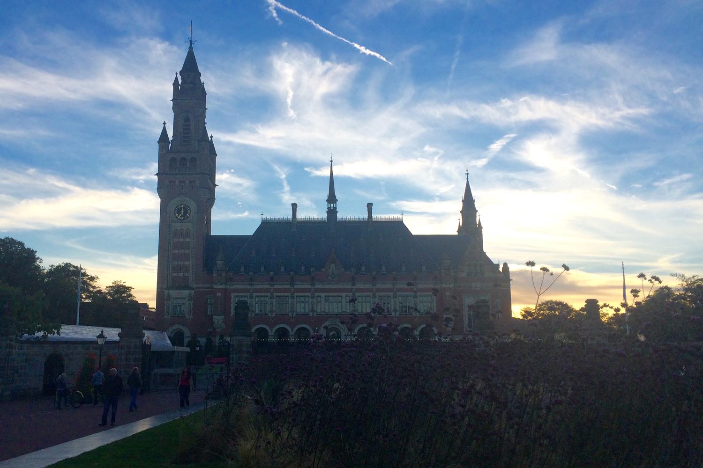 Vredespalais in Den Haag