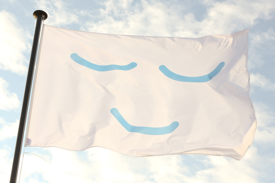 Flag of Peace mit Smile