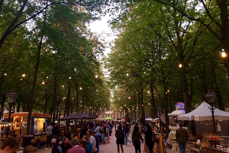 Food Festival an der Lange Vorhoout, Den Haag