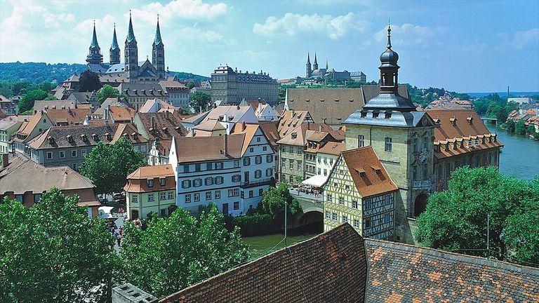 Stadt Bamberg in Deutschland