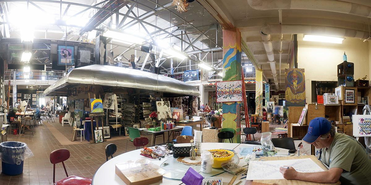 Blick ins Living Museum in New York: Im Stadtteil Queens entstand 1983 das erste Museum dieser Art